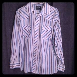 Vintage Wrangler Western style shirt large